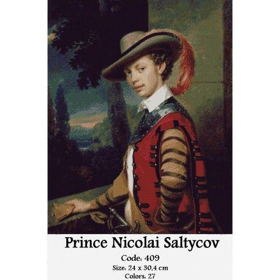 Gobelin Tapestry Kit Prince Nicolai Saltycov http://gobelins-tapestry.com/portraits/856-prince-nicolai-saltycov.html