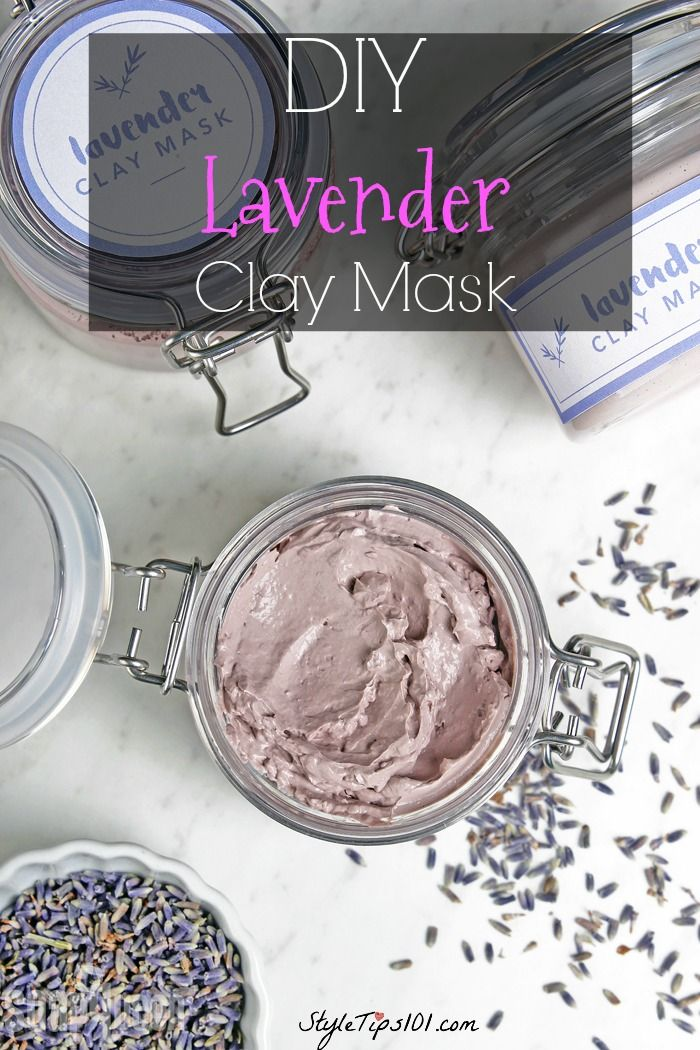 DIY Lavender Clay Mask