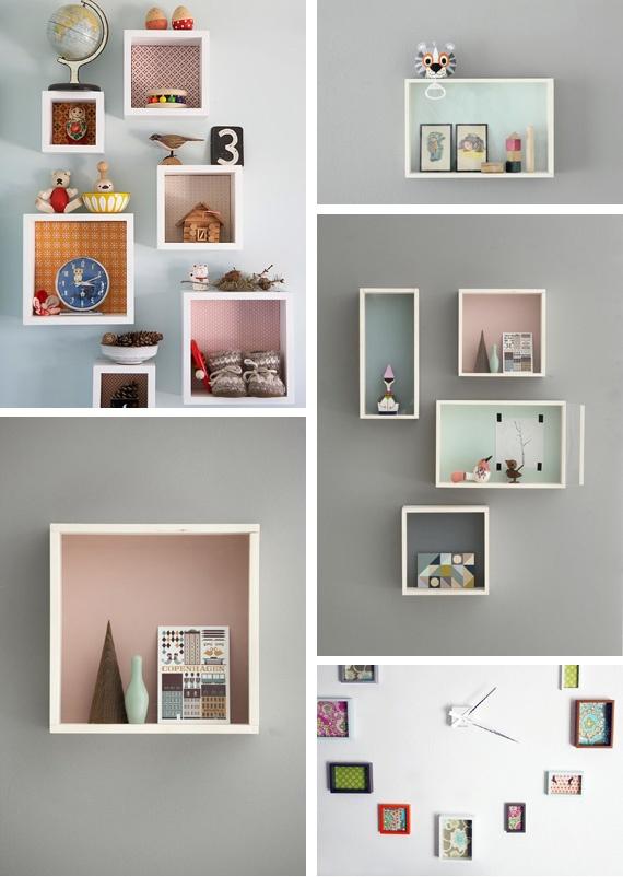 loft in soho: Decorar con cajas las habitaciones de los niños...