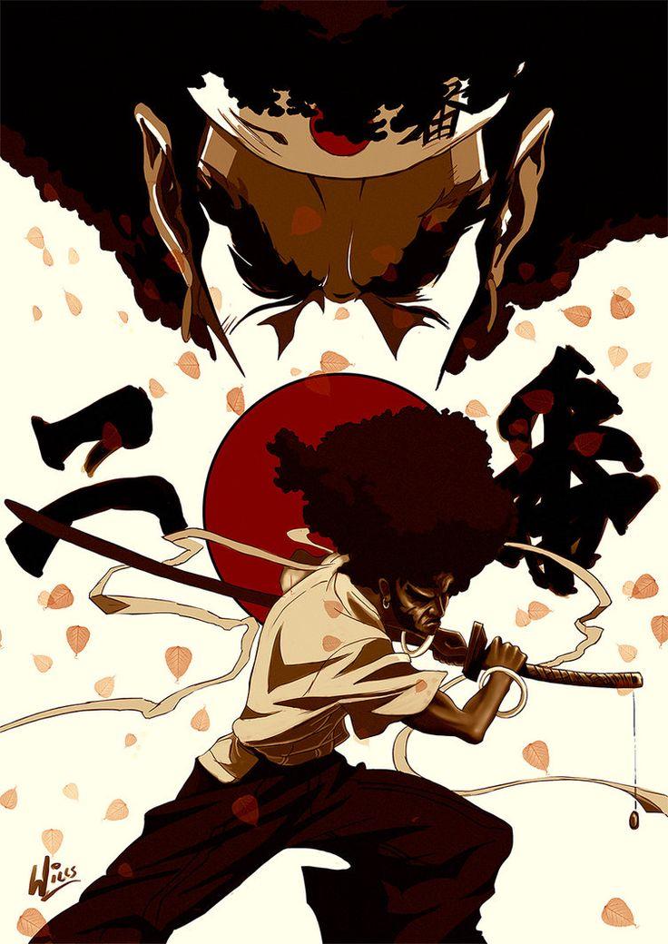 Afro Samurai by MrWills