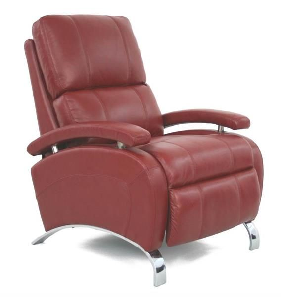 Barcalounger Oracle II Stargo Red Push Through the arm 3-Way Recliner