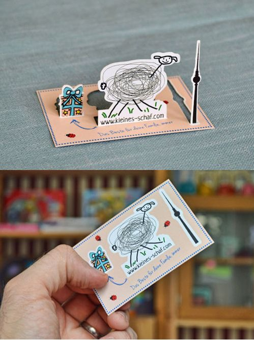 Pop up business card - Want to have your own unique business card design? Go to…