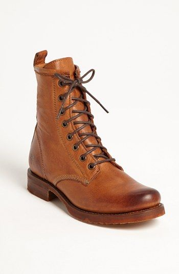 Frye 'Veronica Combat' Boot available at #Nordstrom Love these!