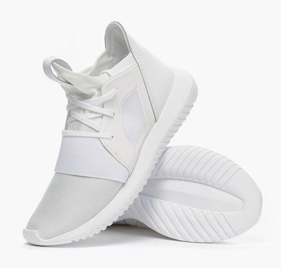 adidas Originals Presents an All White Tubular Defiant