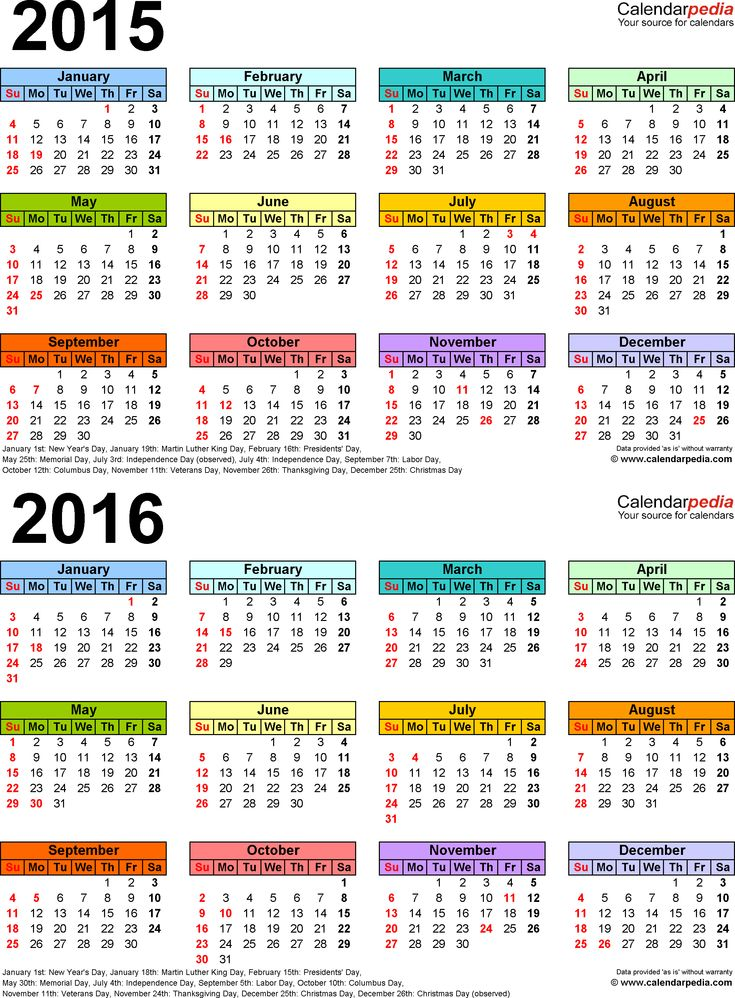 34 Best 2016 Calenders Images On Pinterest | Printable Calendars