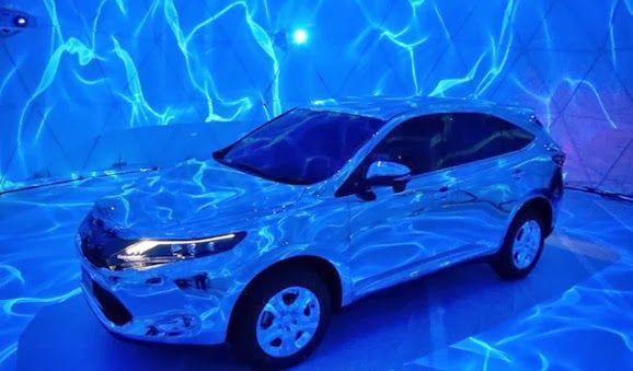 3DCG Reflection Mapping Toyota Harrier - http://www.hargajeepwrangler.com/2014/01/teknologi-3dcg-reflection-mapping-untuk.html