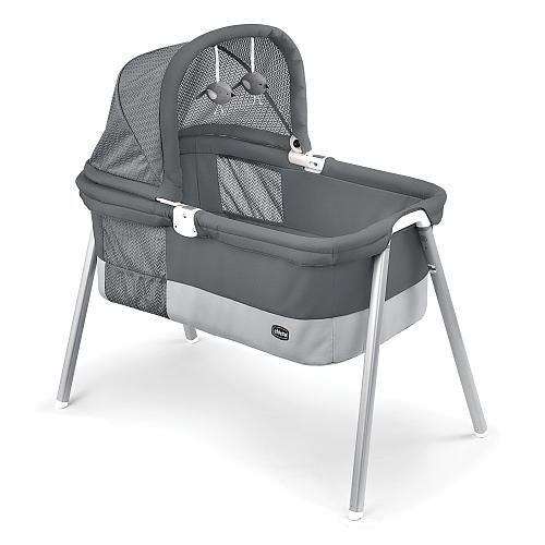 "Chicco LullaGo Deluxe Bassinet - Charcoal - Chicco - Babies ""R"" Us"