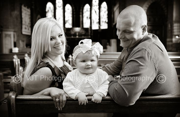 Christening portrait idea
