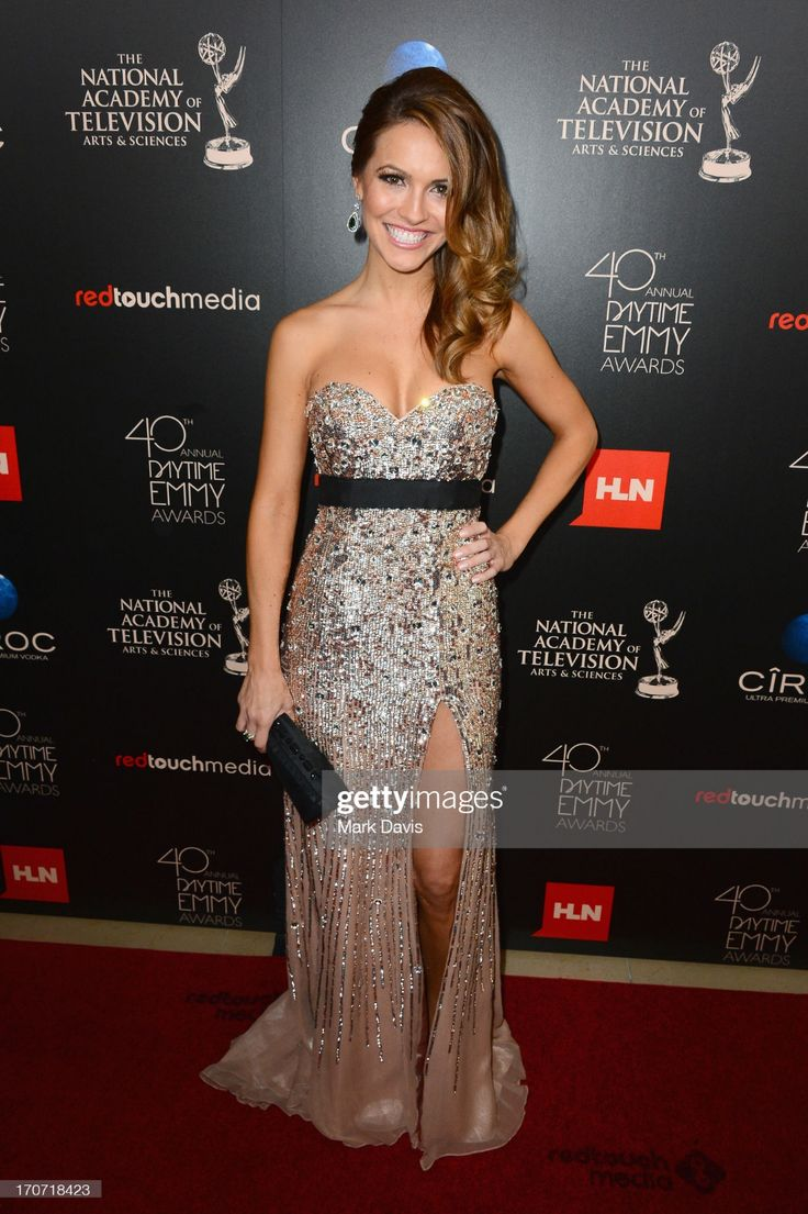 Actress Chrishell Stause attends The 40th Annual Daytime ...