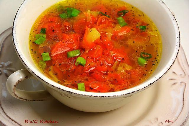 R'n'G Kitchen: Zupa marchewkowa
