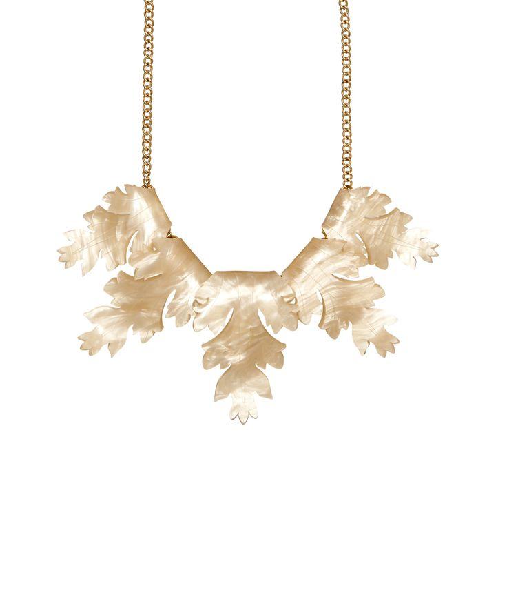 Tatty Devine Acanthus Leaf Necklace