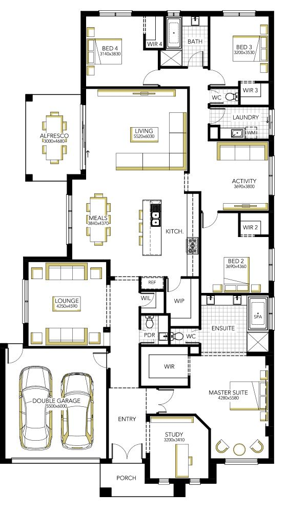 Home Designs & House Plans, Melbourne | Carlisle Homes. Radison
