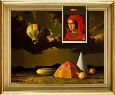 Marian Michalik - Przygotowanie do podróży, 1991