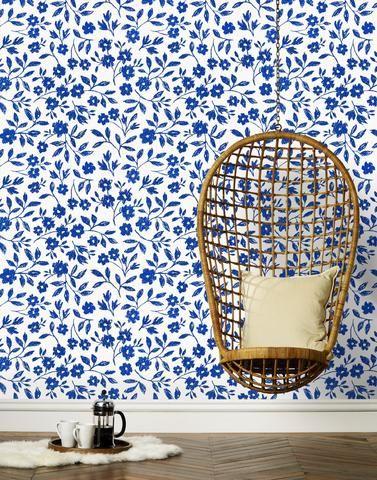 Sketchbook Floral (Blue)