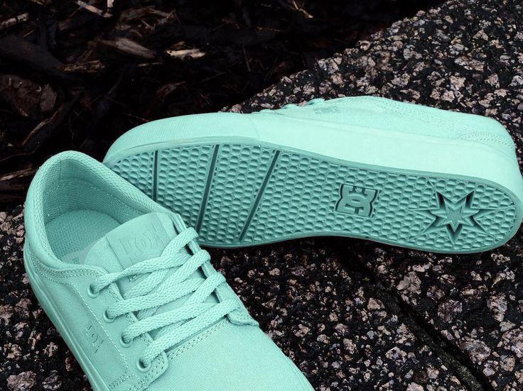 DC Shoes, DC skate shoes, DC Trase TX Aqua