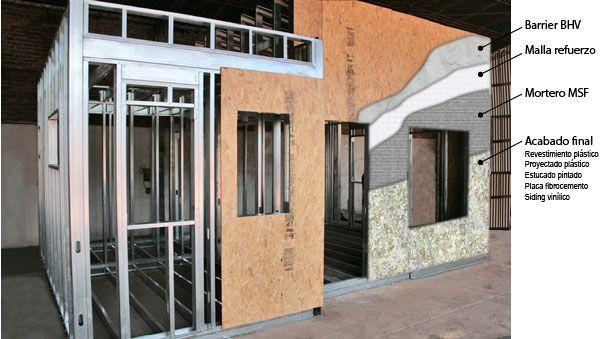 Un cielorraso es un importante componente en un sistema de construcción en seco steel framing, constituye el acabado de terminación, bajo cubiertas de techo y bajo entrepisos steel framing