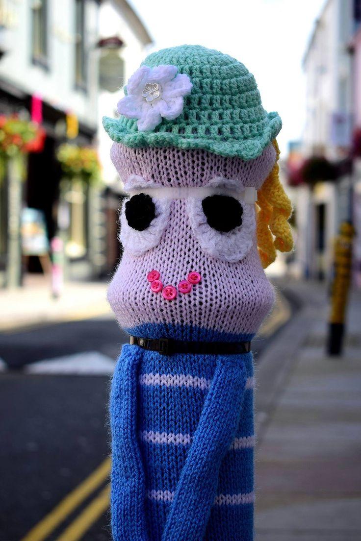 Yarn bomb 2016