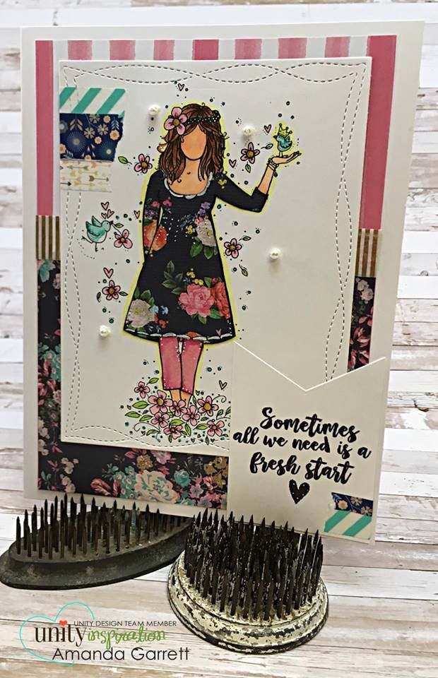 Have you tried your hand at paper piecing yet? It's such a simple way to add some pattern and texture to your next creation!