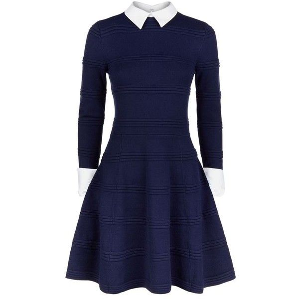 Alice + Olivia Collar and Cuff Long Sleeve Dress available to buy at Harrods. Shop women's designer fashion online and earn Rewards points.
