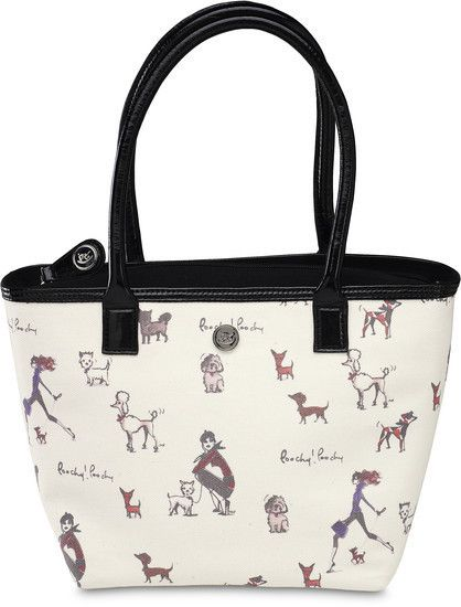 """Poochy! Poochy! - 11.5""""x8""""Insulated Lunch Tote"""