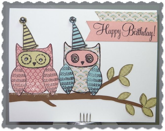 CatScrapbooking: STAMP OF THE MONTH BLOG HOP ~ WHAT A HOOT #Ariana #ArtPhilosophy-Celebrate #Artbooking