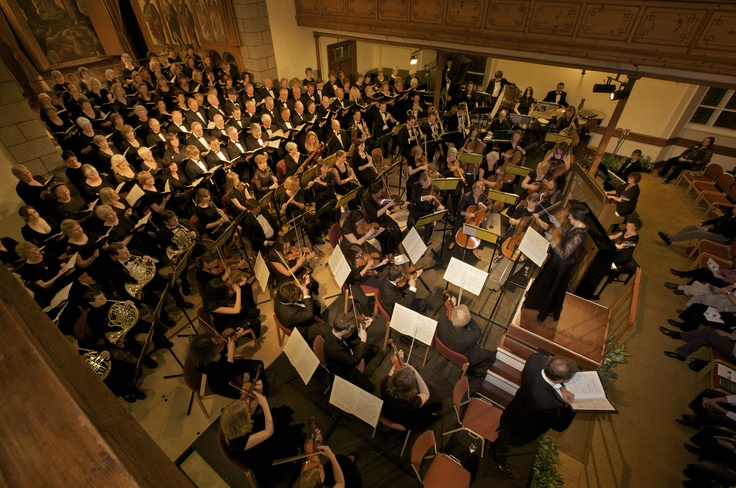 Guernsey Chamber and Orchestral Society - the group can be seen at St James 11 May 2013