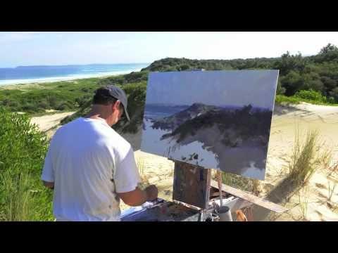 "Video...Ken Knight - evolution of ""South Coast Seascape"" - YouTube. 2.33 mins"