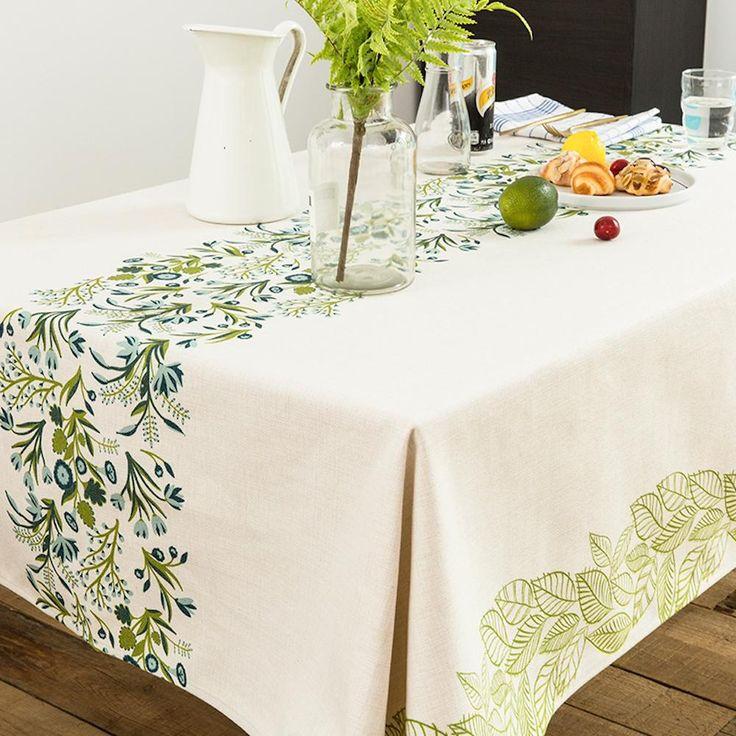 Wild Green Indoor / Outdoor Tablecloth