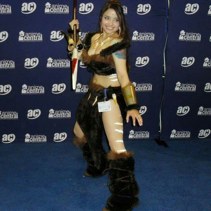 My Nidalee cosplay from league of legends. Acen 2014. #nidalee #cosplay