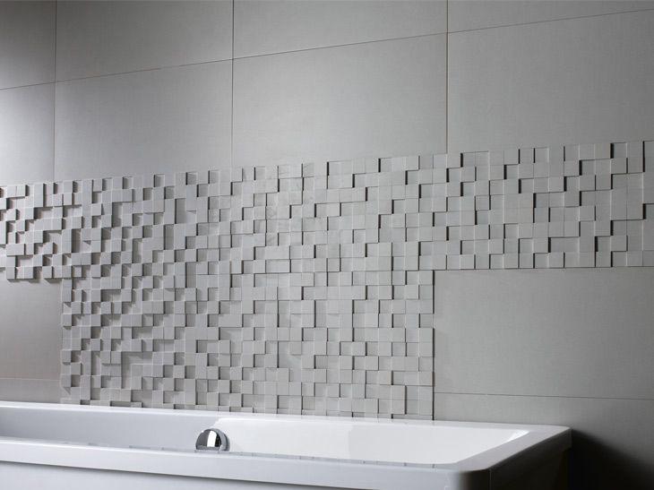 67 best salle d 39 eau images on pinterest bathroom ideas bathroom remode - Mosaique adhesive leroy merlin ...