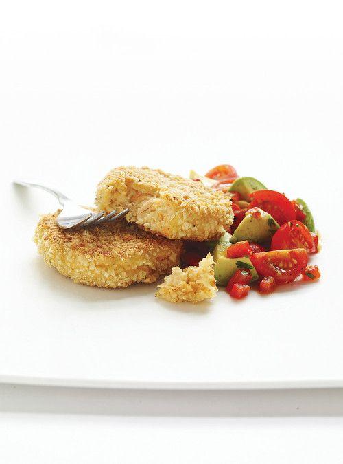 Croquettes de saumon et salsa Recettes | Ricardo