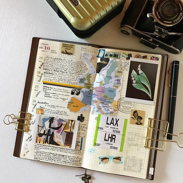 Catching up. * * * #midoritravelersnotebook #mtn #travelerscompany #travelersnotebook #midori #stationery #stationerylove #stationeryaddict #loveforanalogue #analoguelove #journaling #journal #planner #fountainpen #thedailywriting #flatlays #stickers #washitapes #文房具 #文具 #手帳分享 #手帳生活 #手帳時間 #手帳 #旅人手帳 #ミドリトラベラーズノート
