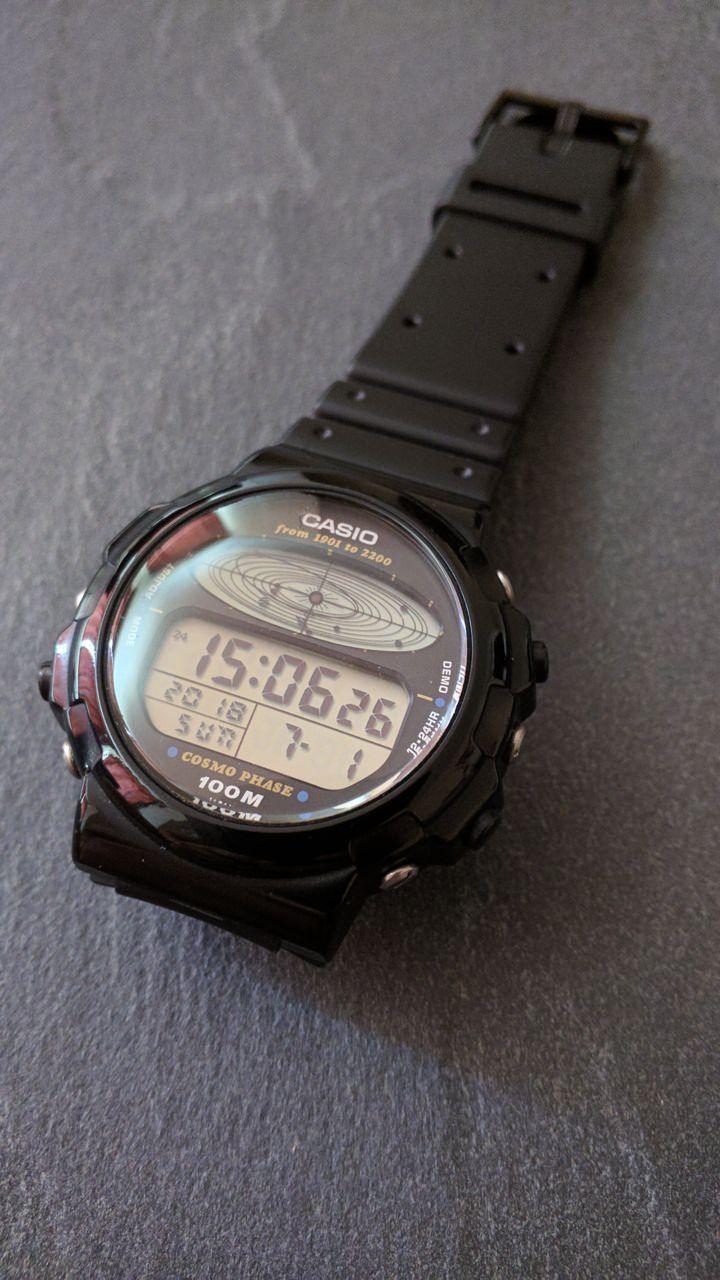 Casio Cosmo Phase Cgw 50 Ground Control To Major Tom Relogio Casio Relogios