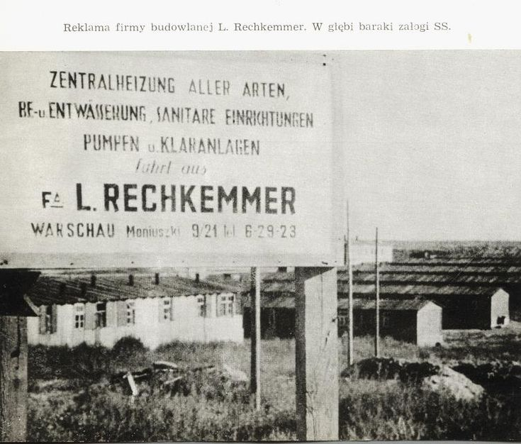 Obóz koncentracyjny Majdanek.
