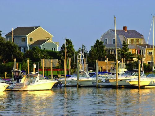 Hyannis Harbor, Cape Cod.  We ALWAYS start here.  Antique shops and candle shops and so much yummy food. whatever you want.  Plenty of spots to sit and rest as you walk about.  Walk down to the piers to see the fishing boats.