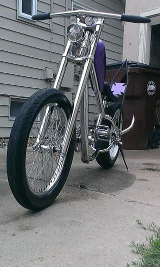 Jesse James west coast choppers bicycle