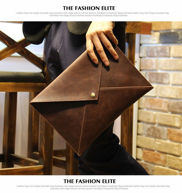 Fashion envelope bag  Material: Crazy horse PU leather  Size Length:37cm Width:1cm Height:27cm  Note 1: Due to different producing batches, there may be deviation of 1----2 CM for items.  Note 2: Colors on your computer monitor may differ sligh...
