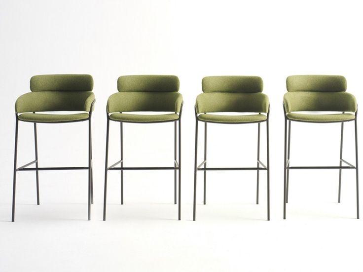 Tabouret haut en tissu Collection Strike by Debi by Arrmet | design DebiLab