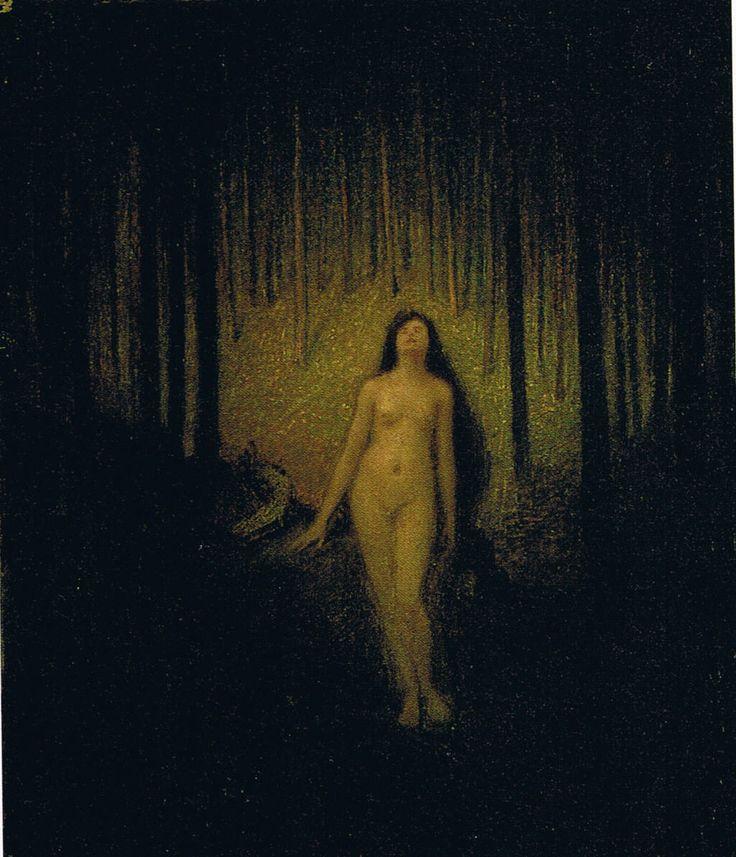 Ozias Leduc - Erato (Muse in the Forest)
