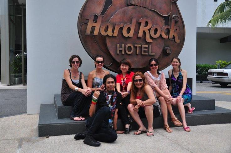 The Australian Media visited us today. #hardrock #penang