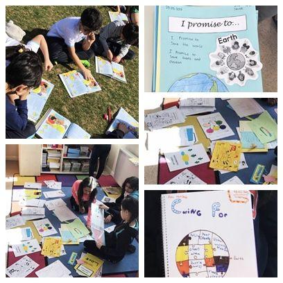 4. sınıf öğrencilerimiz İngilizce derslerinde sosyal sorumluluk projeleri ile ilgili hikayeler okuduktan sonra; araştırmalar yapıp, daha iyi bir dünya için yapmaları gereken şeyler ile ilgili beyin fırtınası yaptılar. Bu çalışmanın ardından, seçtikleri problemlerle ilgili çözüm yolları geliştirip projelerini aşamalandırdılar.