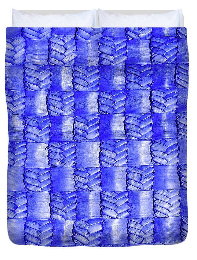 Weaving Duvet Cover featuring the photograph Weaving Flax - Lilac Haze by Wairua o te Moana