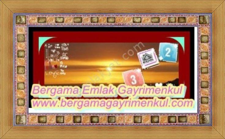 İzmir bergama zeytindağ istikametinde satılık tarla bahçe Satılık Arsa, Tarla, Arazi Bergama İzmir