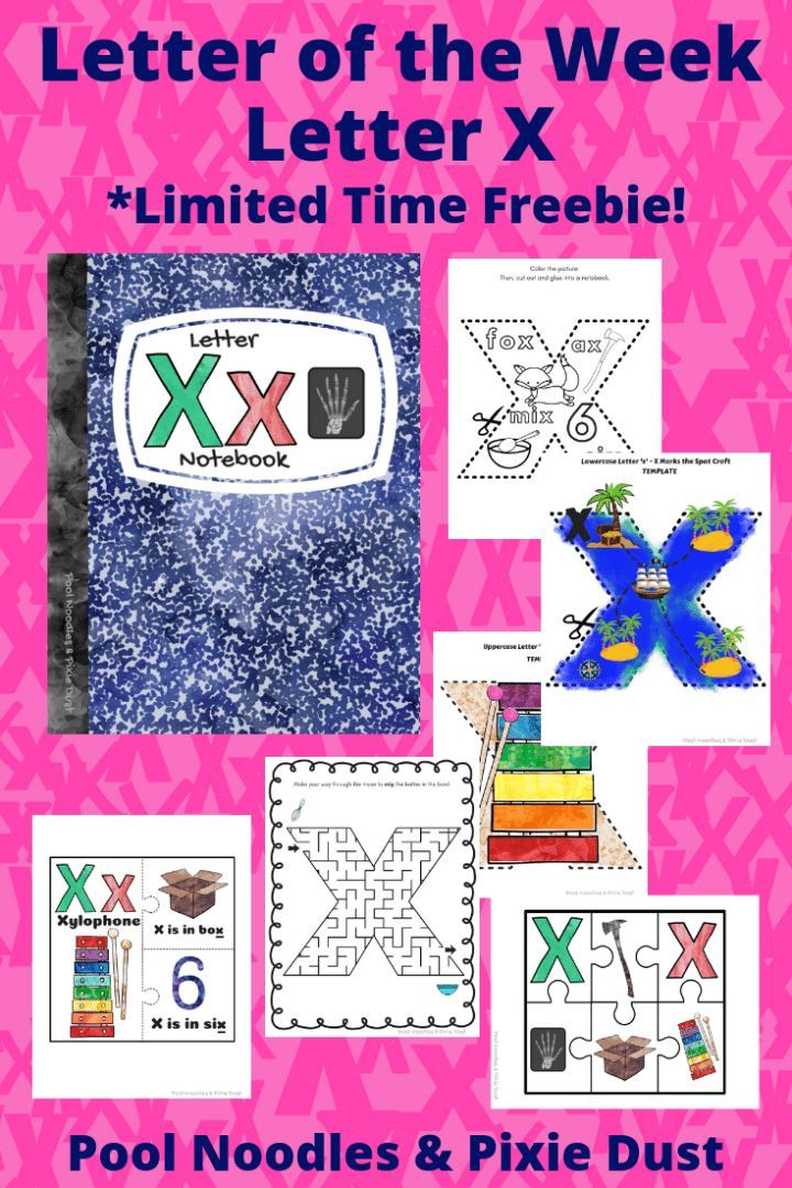 Letter Of The Week Letter X Alphabet Activities Preschool