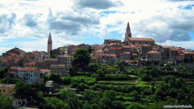 Der schönste Ort Buje in Kroatien Weitere interessante Informationen über Kroatien und nicht nur auf http://www.e-kroatien.de/istrien/buje