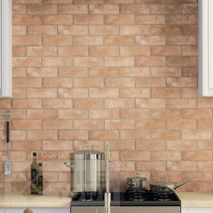 Kitchen Tiles Brick Effect 27 best brick effect tiles images on pinterest | bathroom tiling