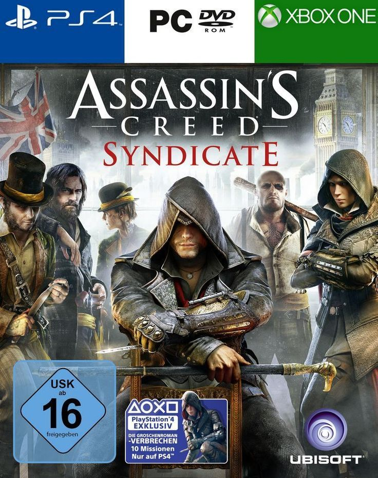 Assassin's Creed Syndicate für PS4, XBOX ONE und PC