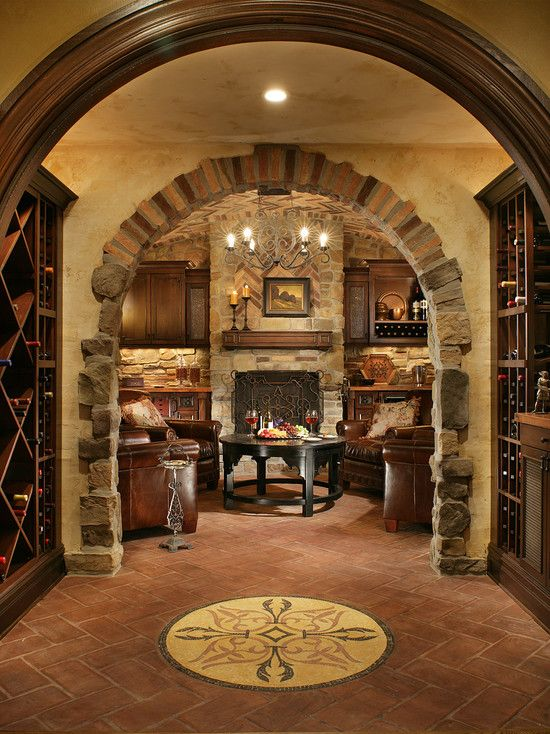 Wine cellar home sweet home pinterest - Home wine room ...