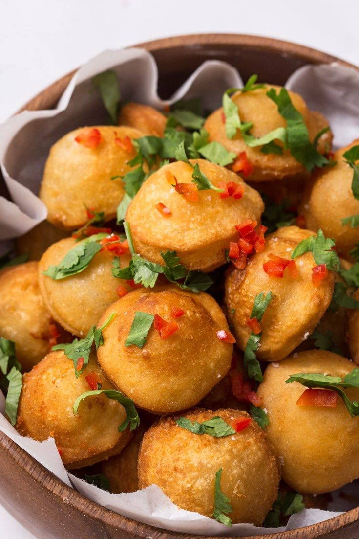 A popular Brazilian street food, Pastel de queijo are delicious little deep-fried pastry parcels. Marcello Tully's pastel recipe features a gooey double cheese filling of cheddar and mozzarella, spiked with a little heat from red chilli.
