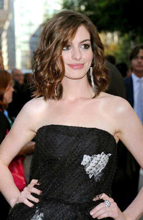 10 Anne Hathaway Bob Haircuts   Bob Hairstyles 2015 - Short Hairstyles for Women